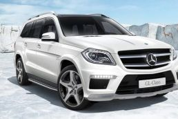 3D Visualisierung Mercedes GL Klasse